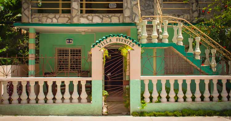 Private rooms for rent in Holguin, Cuba