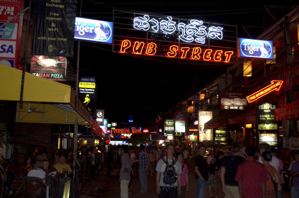 nightlife siem reap
