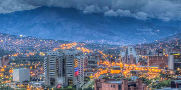city view of Medellin, Colombia
