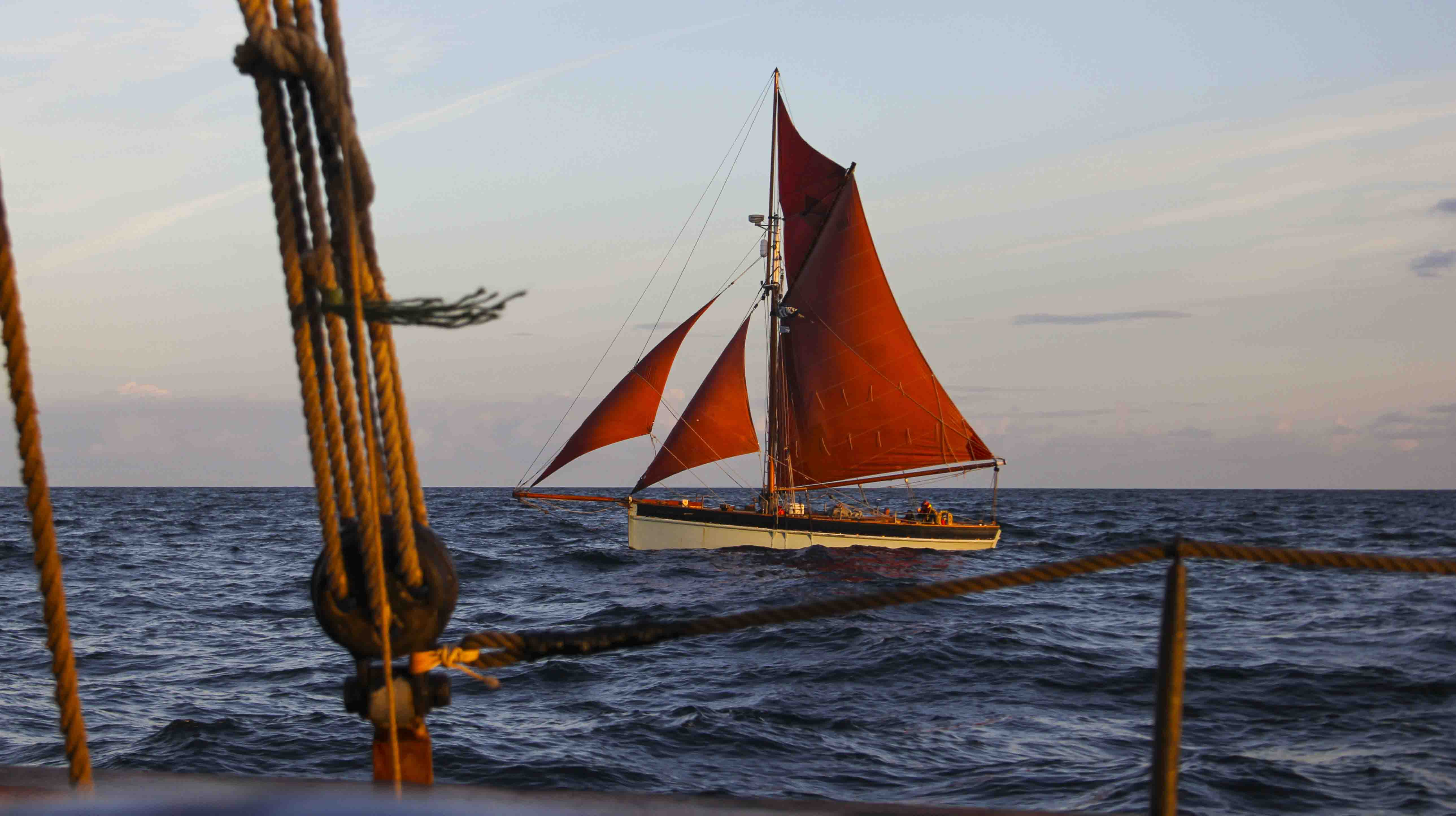 Trinity Sailing Experience from England to France