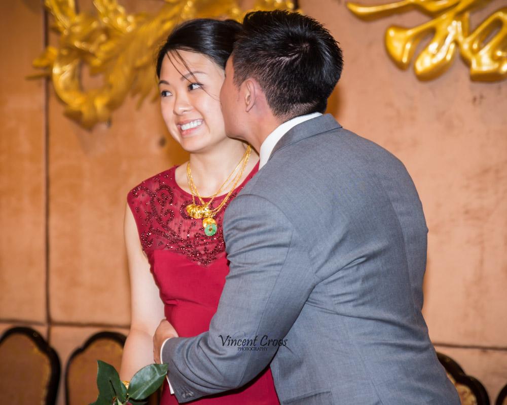 gordon kissing karen - Toronto Wedding Photographer