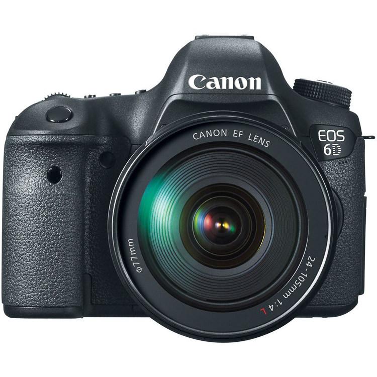 Canon 6D full-frame camera