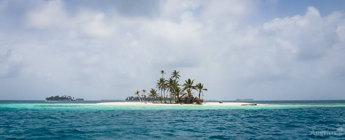 isolated island, san blas sailing