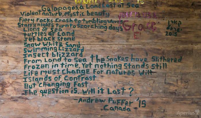 Galapagos Poem
