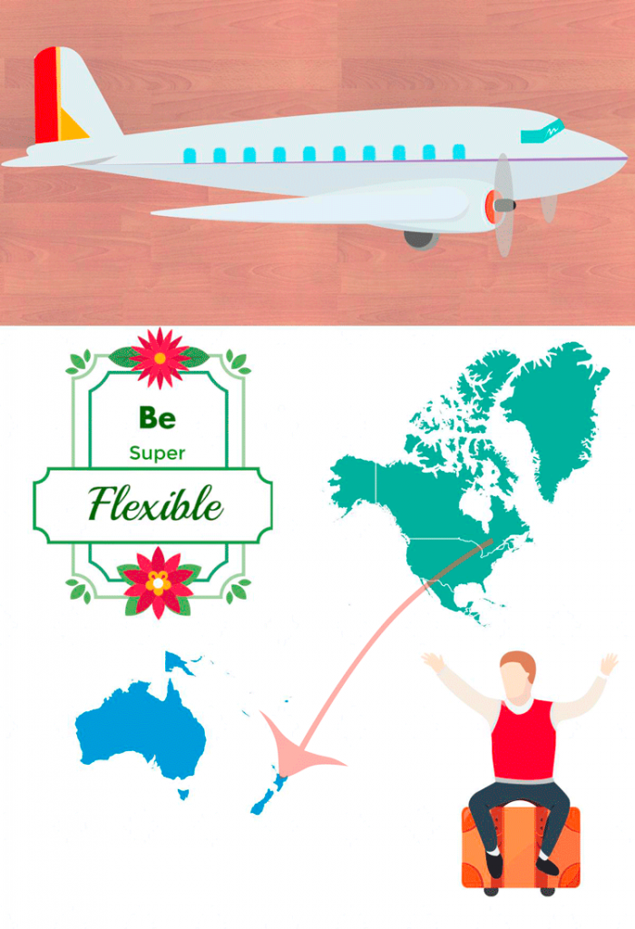 how to find cheap flights infographic
