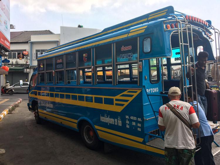 Patong to Phuket bus