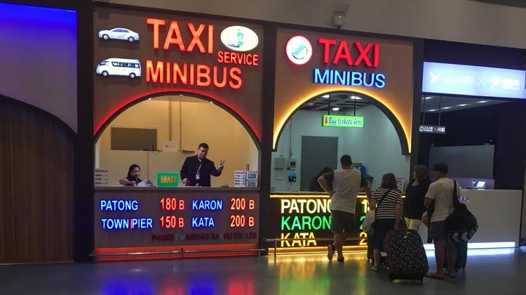 The Comical Phuket Airport Transfer to Patong, Kata, and Karon