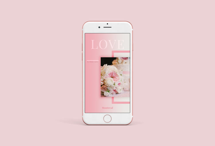 Free Instagram Stories General Template - PS CC File