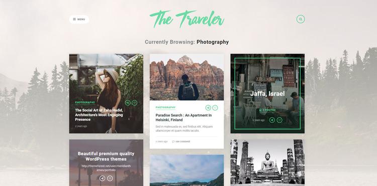 the traveler wp theme