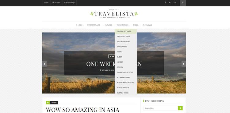 travelista best wordpress travel blog theme