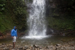 boquete cloud forest waterfall