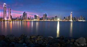 cinta costera cityscape photography panama
