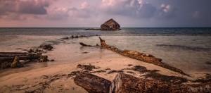 hut ocean view san blas islands photos